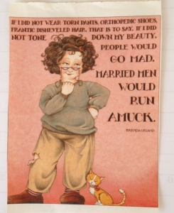 """Borrowed"" from Mary Englebreit!"